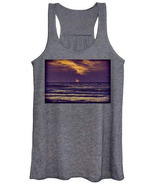 Purple Sunrise Women's Tank Top