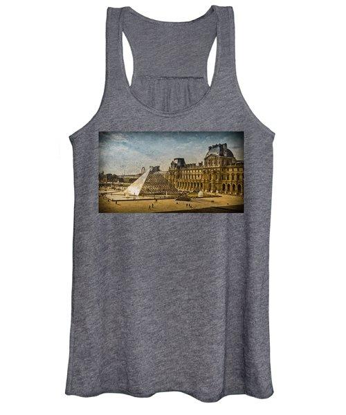 Paris, France - Pyramide Women's Tank Top