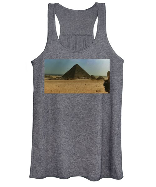 Pyramids Of Egypt Women's Tank Top