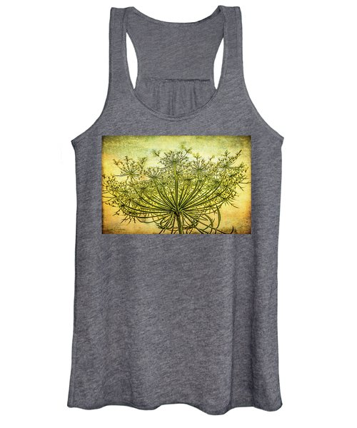 Queen Anne's Lace At Sunrise Women's Tank Top