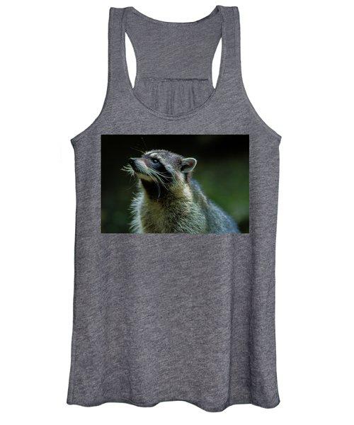 Raccoon 1 Women's Tank Top