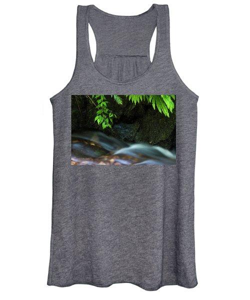 Rain Forest Stream Women's Tank Top