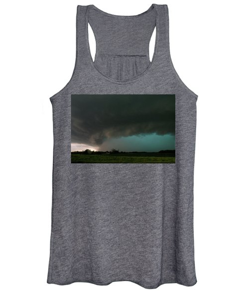 Rain-wrapped Tornado Women's Tank Top