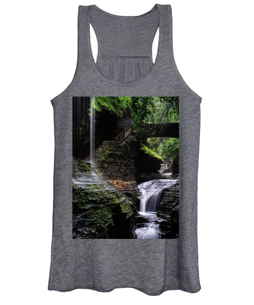 Rainbow Falls Women's Tank Top