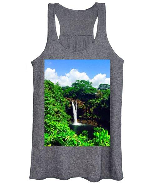 Rainbow Falls Hilo Hawaii Women's Tank Top