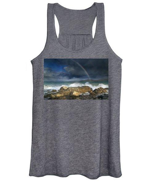 Rainbow To Heaven Shamrock Shores  Women's Tank Top