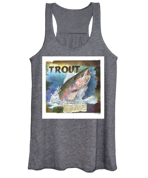Rainbow Trout Women's Tank Top