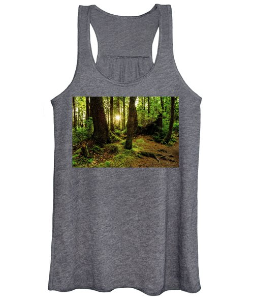 Rainforest Path Women's Tank Top