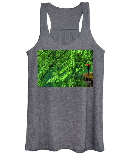 Raining Serenity - Plitvice Lakes National Park, Croatia Women's Tank Top