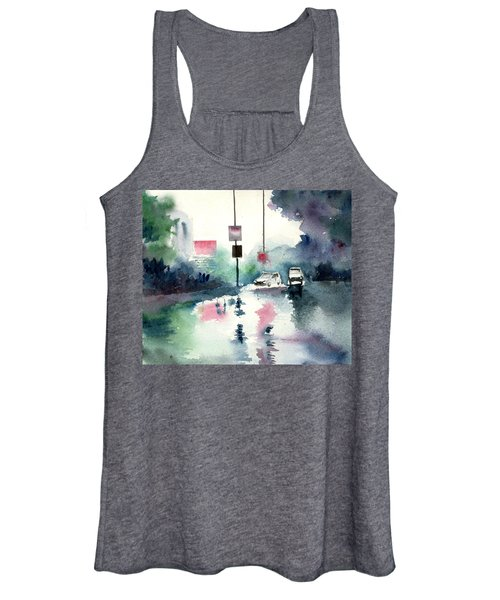 Rainy Day Women's Tank Top