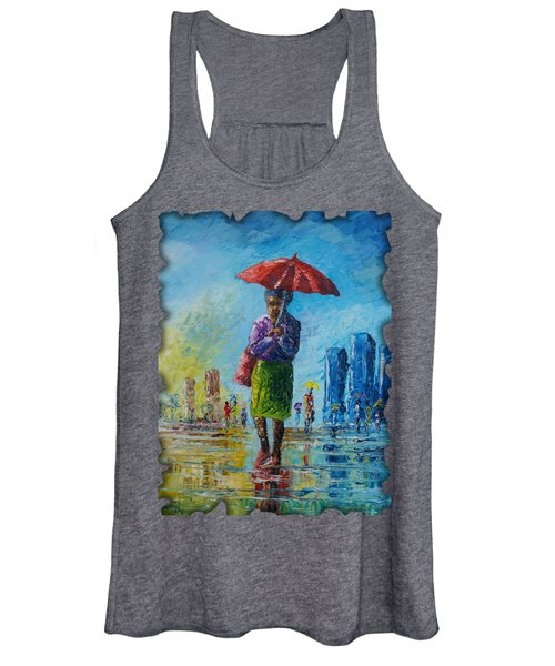 Rainy Day Women's Tank Top