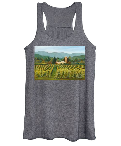 Raspberry Rows Women's Tank Top