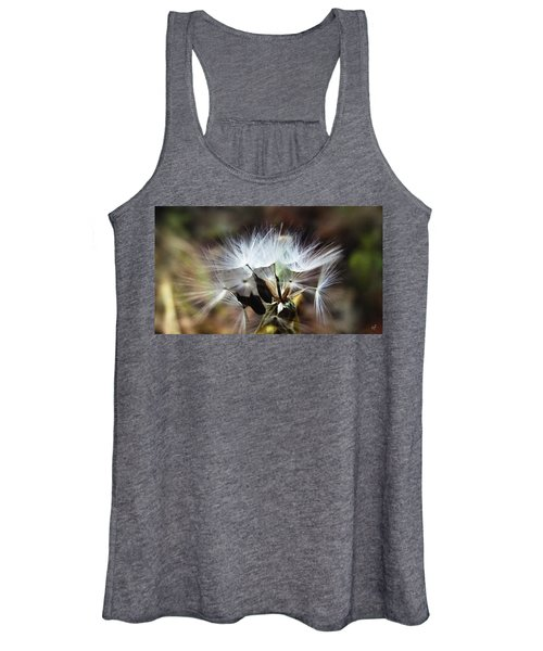 Ready To Fly... Salsify Seeds Women's Tank Top