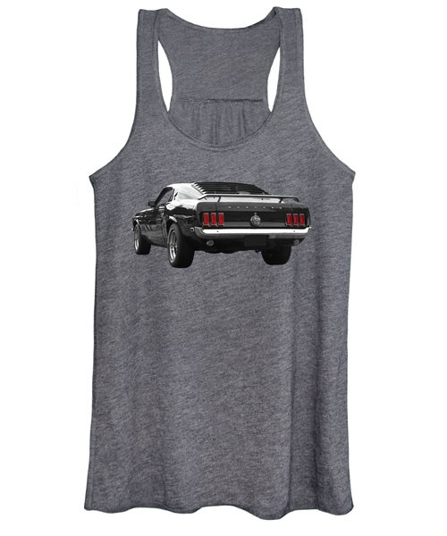 Rear Of The Year - '69 Mustang Women's Tank Top