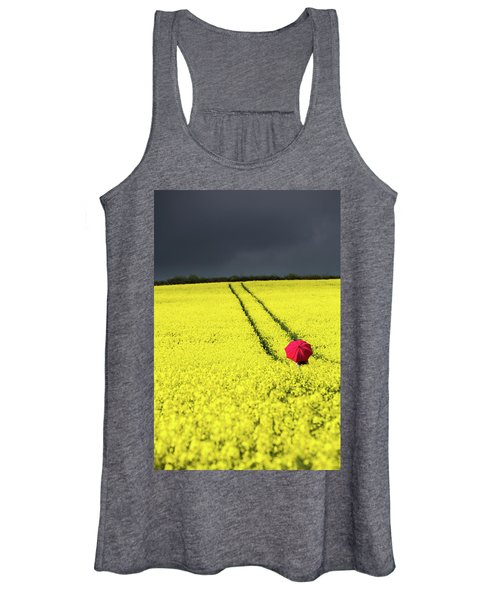 Red And Yellow And....... Women's Tank Top