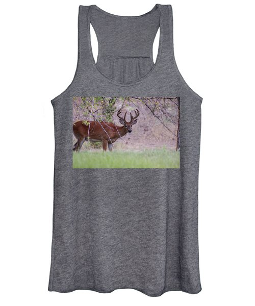 Women's Tank Top featuring the photograph Red Bucks 2 by Antonio Romero
