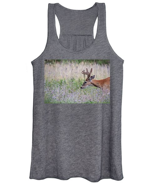 Women's Tank Top featuring the photograph Red Bucks 4 by Antonio Romero