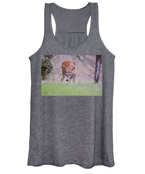 Women's Tank Top featuring the photograph Red Bucks 6 by Antonio Romero