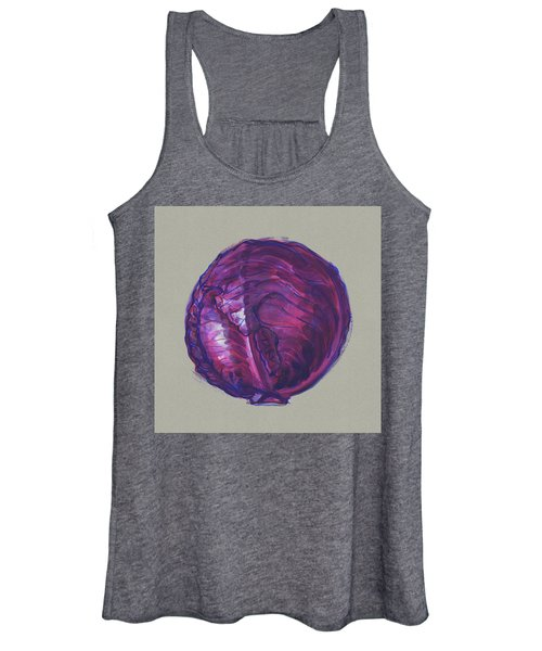 Red Cabbage Women's Tank Top