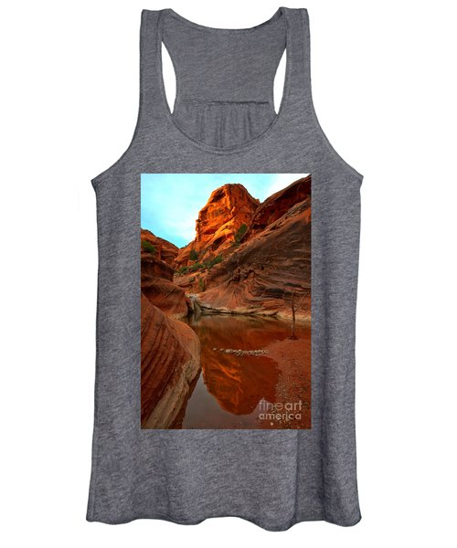 Red Cliffs Reflections Women's Tank Top