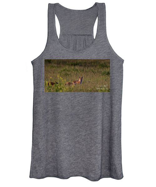 Red Fox Family Women's Tank Top