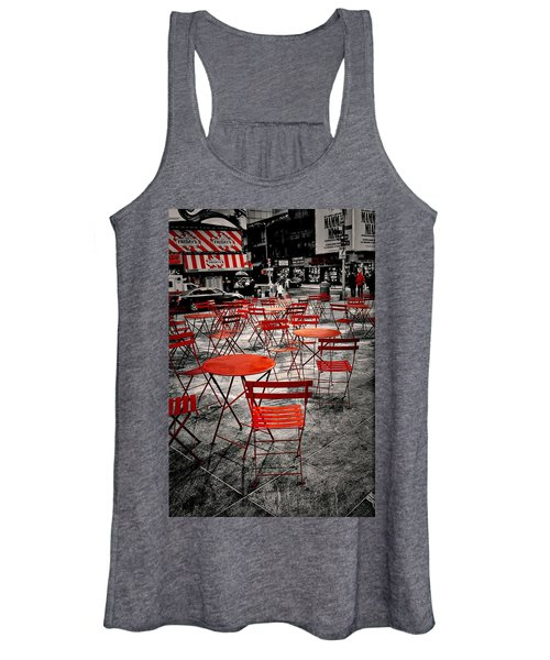Red In My World - New York City Women's Tank Top