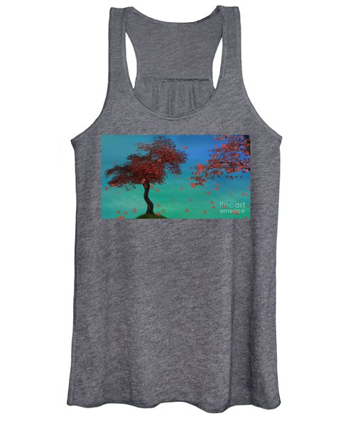Red Maples Women's Tank Top