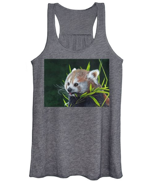 Red Panda Women's Tank Top