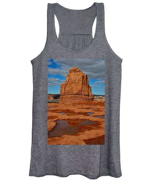 Red Rock Reflection Women's Tank Top
