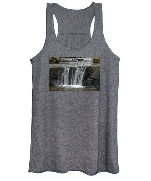 Red Run Waterfall Women's Tank Top