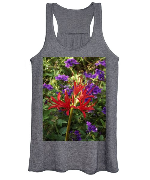 Red Spider Lily Women's Tank Top
