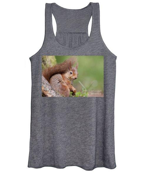 Red Squirrel - Scottish Highlands  #17 Women's Tank Top