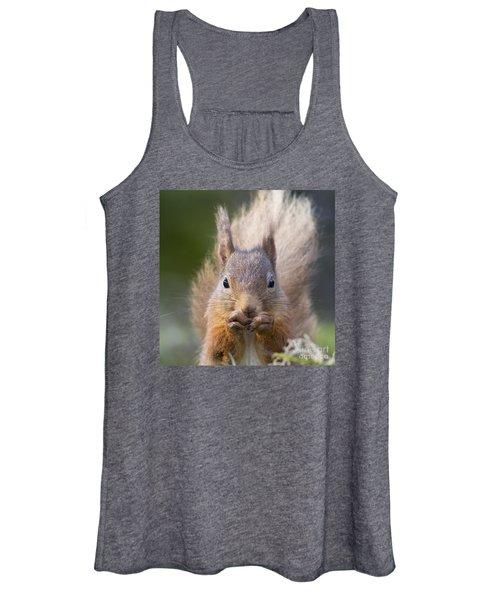 Red Squirrel - Scottish Highlands #28 Women's Tank Top