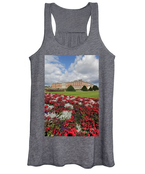 Red White And Blue At Hampton Court Women's Tank Top