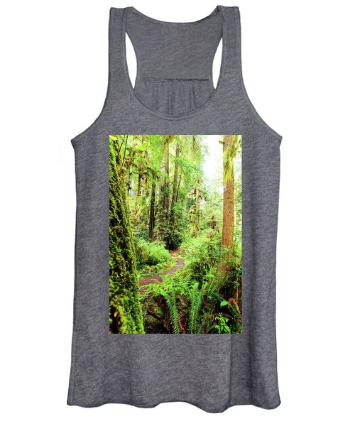 Red Woods Trail Women's Tank Top