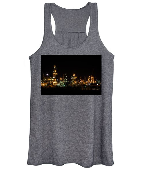 Refinery At Night 2 Women's Tank Top