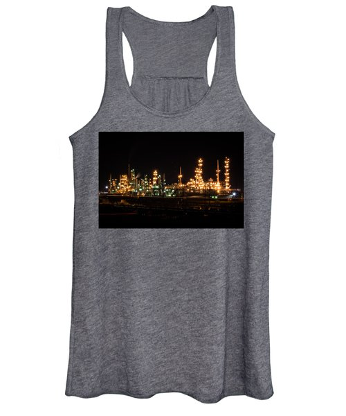 Refinery At Night 3 Women's Tank Top