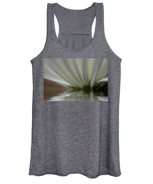 Women's Tank Top featuring the photograph Reflecting by Bob Cournoyer