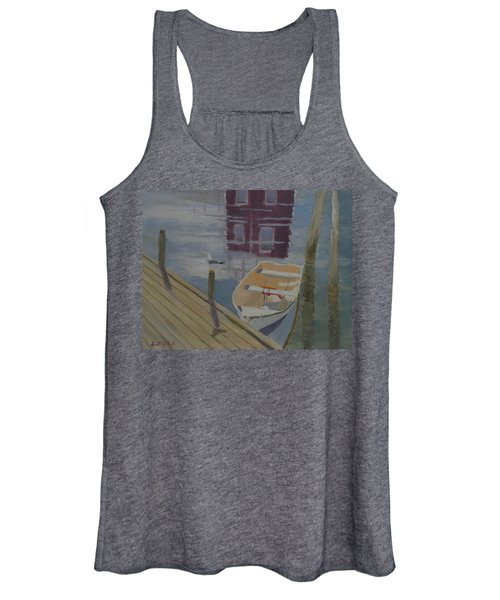Reflection In Red Women's Tank Top