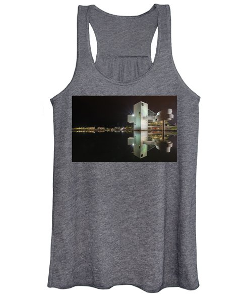Reflection Of Rock And Roll In Cleveland Women's Tank Top