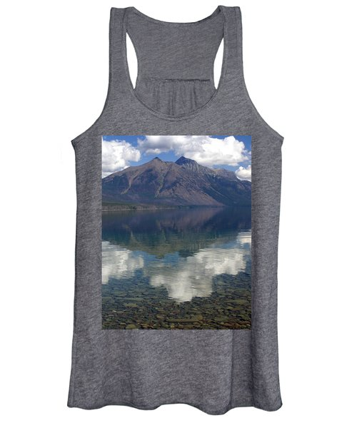 Reflections On The Lake Women's Tank Top