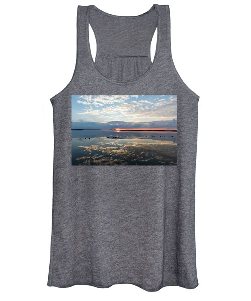 Reflections Over Back Bay Women's Tank Top