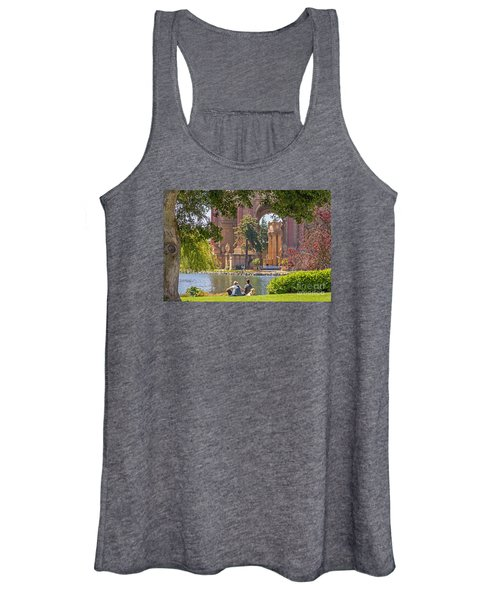 Relaxing At The Palace Women's Tank Top