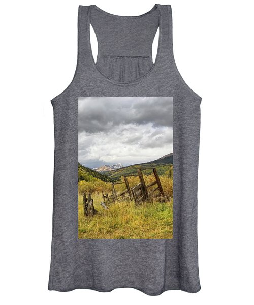 Remains Of A Corral Women's Tank Top