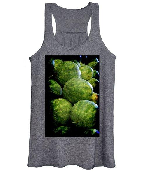 Renaissance Green Watermelon Women's Tank Top