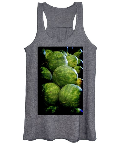 Renaissance Green Watermelon Women's Tank Top