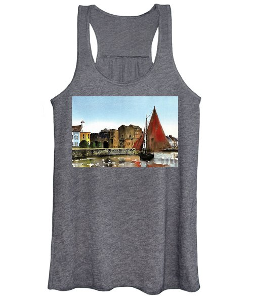 Returning Home To The Cladagh Women's Tank Top