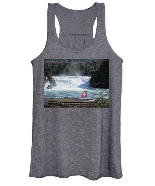 Rhine Falls In Switzerland Women's Tank Top