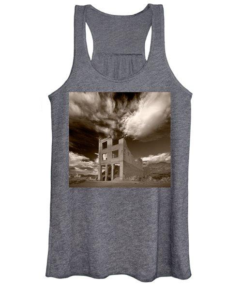 Rhyolite Nevada Ghost Town Women's Tank Top
