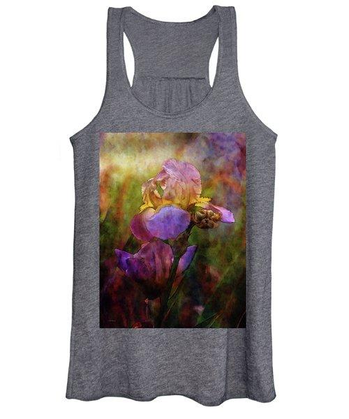 Rich Purple Irises 0056 Idp_22 Women's Tank Top